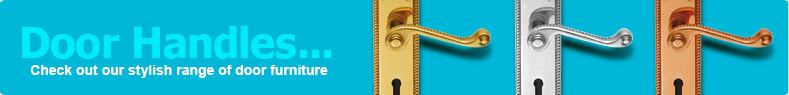 Door Handles... Check out our stylish range of door furniture