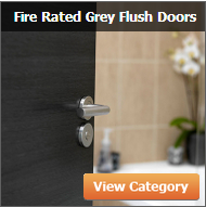 Fire Rated Grey Flush Doors