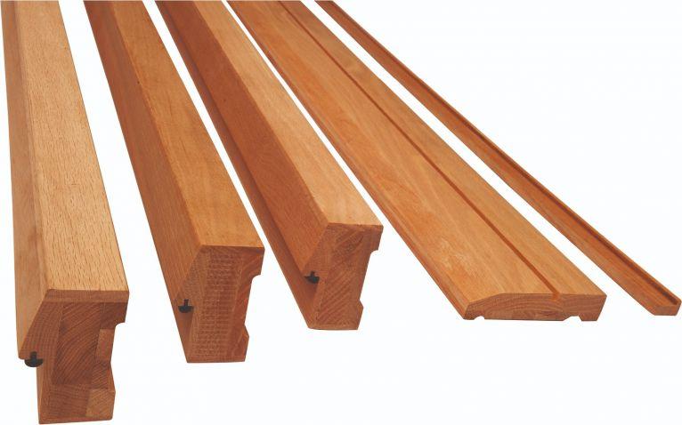 Hardwood Double Door Frame Kit on
