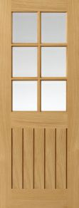 JB Kind Tutbury Oak Pre-finished Door