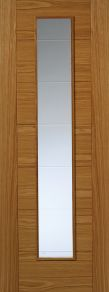 JB Kind Oak Contemporary VP7-1VCB Oak Internal Door