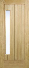 Newbury 1 Light Oak External Door