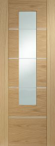 Portici Oak Glazed Internal Door