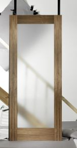 LPD Porto Glazed Walnut Internal Door