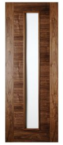 Deanta Seville Unglazed Walnut Internal Door