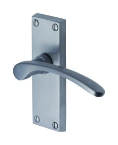 Sophia Lever Latch Handle on Short Plate