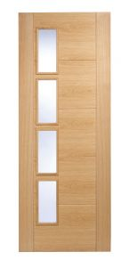 LPD Vancouver 4L Offset Oak Internal Door