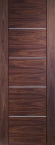 Portici Walnut Prefinished Internal Door