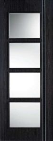 LPD Ash Grey Zanzibar glazed internal door