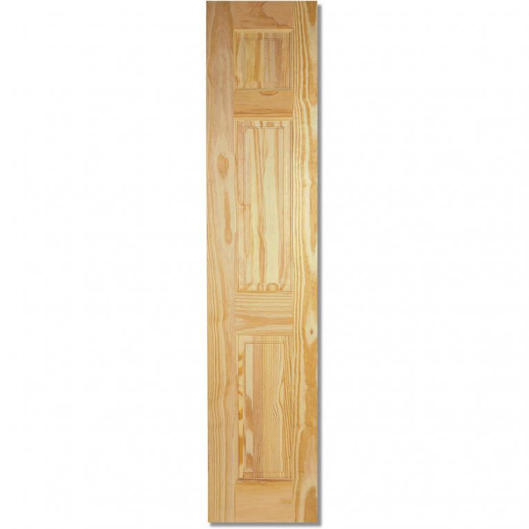 LPD 3 Panel Clear Pine Half Internal Door