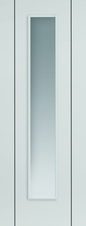JB Kind Eco Parelo Glazed White Door