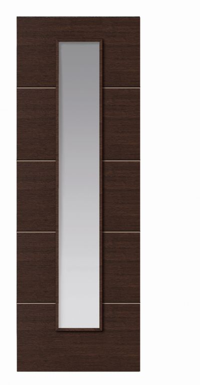 JB Kind Wenge Glazed Internal Door