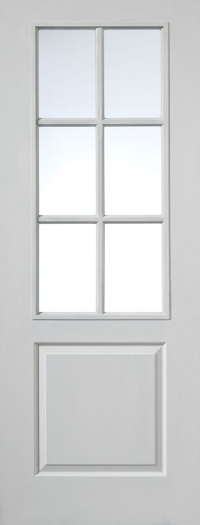 Glazed Doors White Moulded Internal Glazed Doors