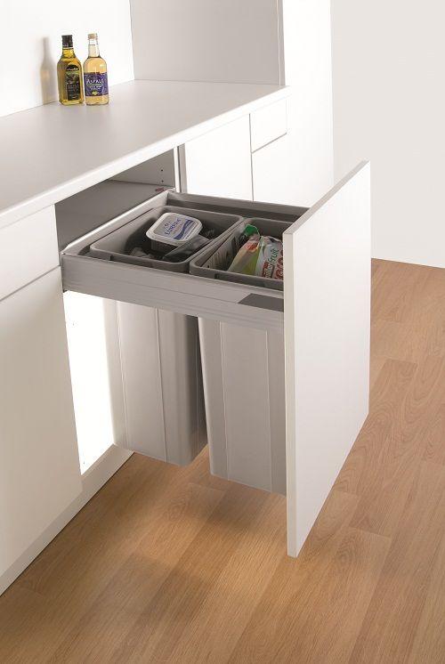 pullboy z waste bin system for blum 450mm drawer waste bins