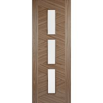 LPD Zeus Glazed Walnut Internal Door
